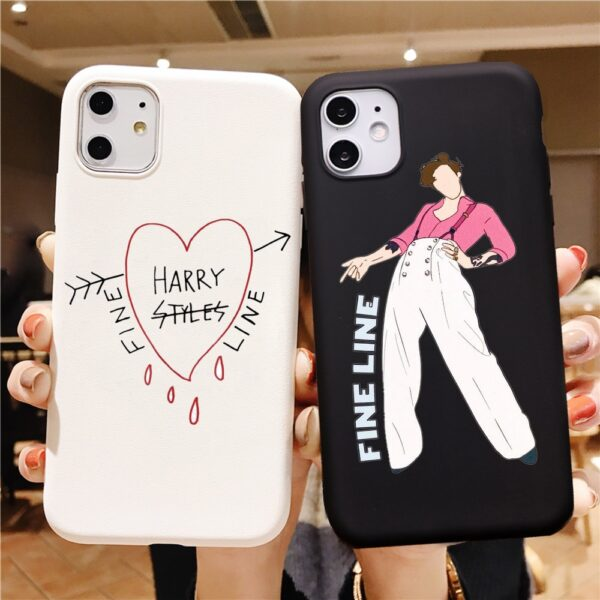 Harry Styles Fine Line Phone Case for IPhone X 6S 8 7Plus 11 12 XS Max XR SE2 Treat People with Kindness Matte Transparent Cover